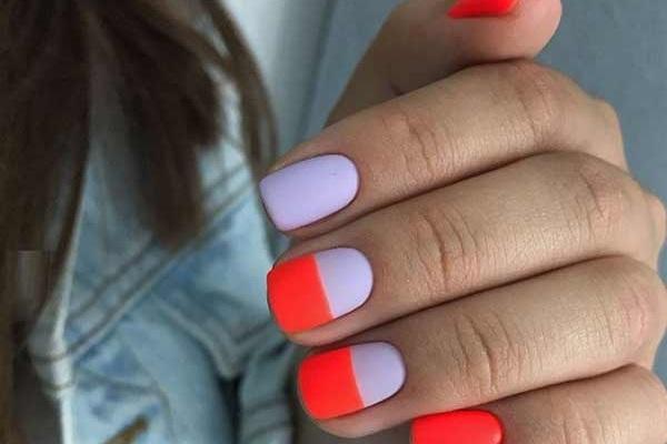 Простой но эффектный дизайн ногтей