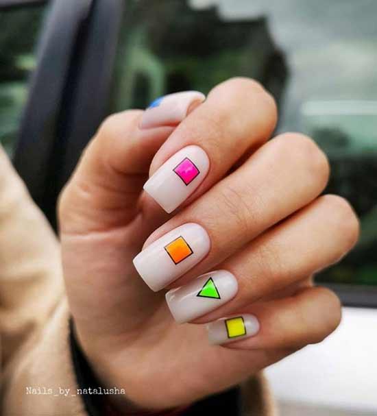 Простой дизайн ногтей виды, новинки и фото