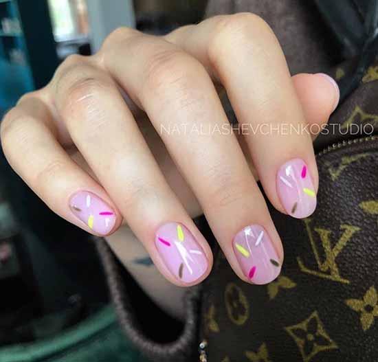 Быстрый но эффектный дизайн ногтей