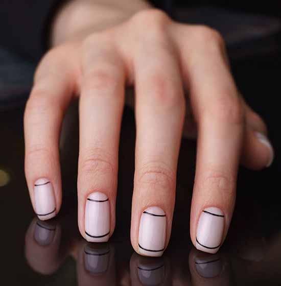 Маникюр на квадратные ногти: 100 фото с новыми, красивыми идеями