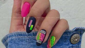 Молодежный дизайн ногтей: 100 новинок, фото маникюра