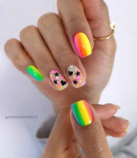 Два прозрачных ногтя