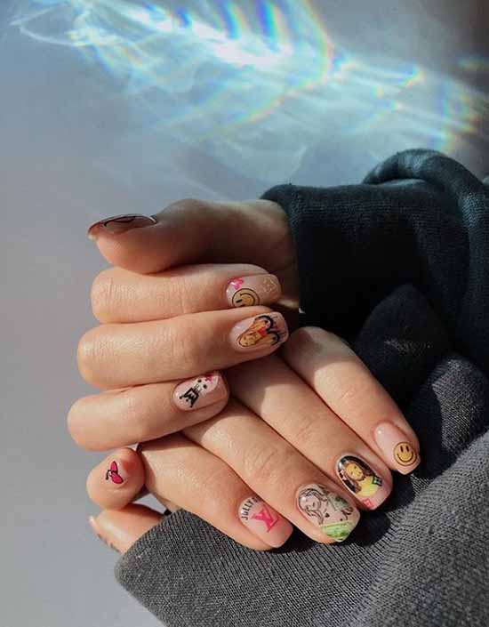 Прозрачный маникюр: фото, модные идеи дизайна ногтей