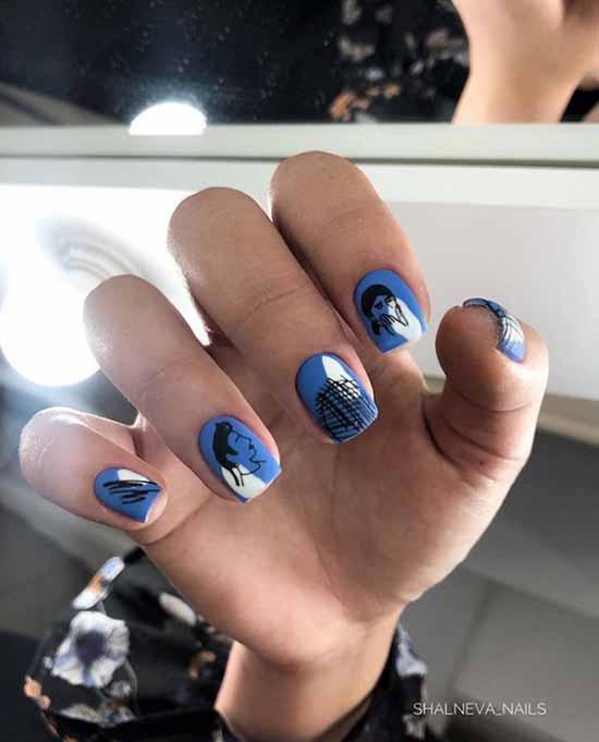 Дизайн на короткие ногти 2020-2021: новинки маникюра, фото-идеи