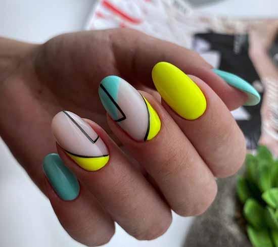 Геометрия на овальные ногти