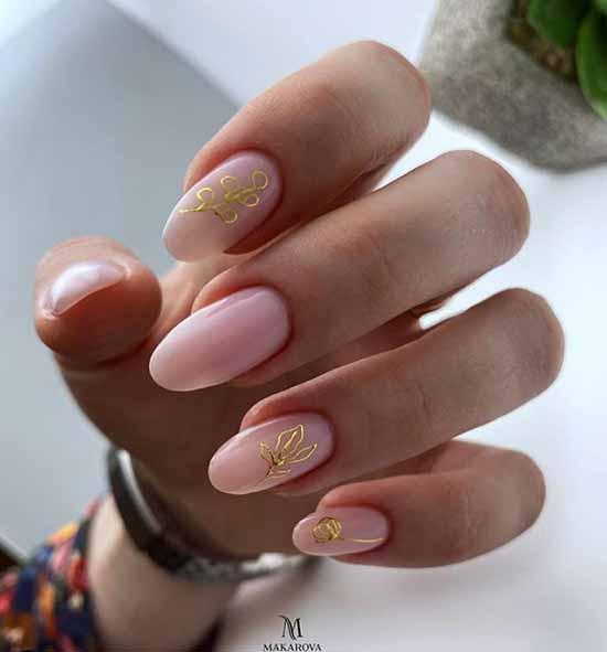Маникюр на овальные ногти 2020-2021: новинки, модные фото-идеи