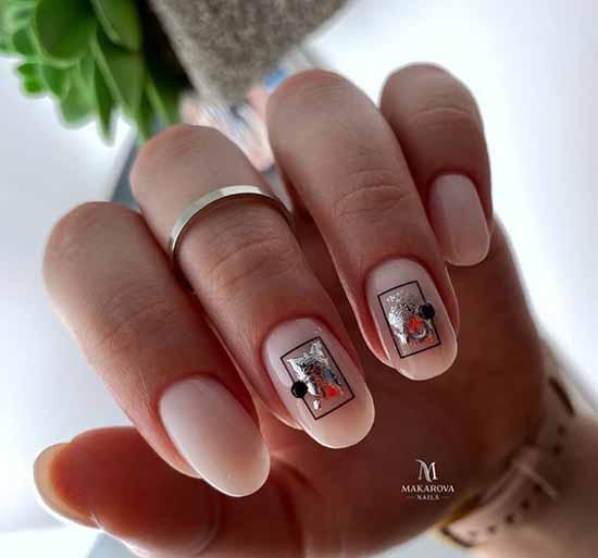Новинки маникюра на овальные ногти