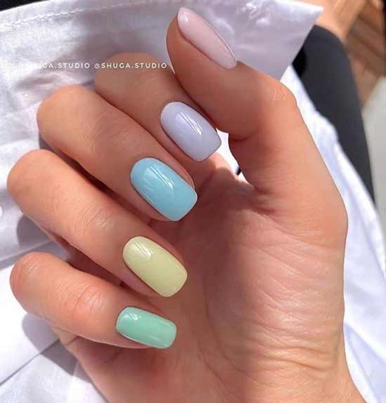 разноцветный дизайн