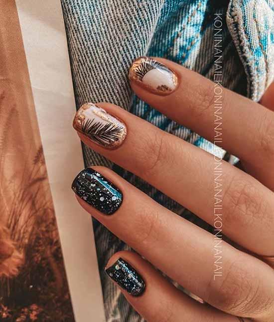 Модный осенний маникюр 2020: фото, тренды, идеи нейл-арта