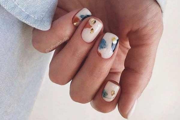 Стильный дизайн ногтей фото маникюра