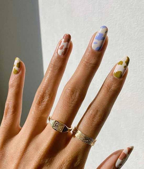 Маникюр на загорелые руки: 100 фото, новинки, стильный дизайн