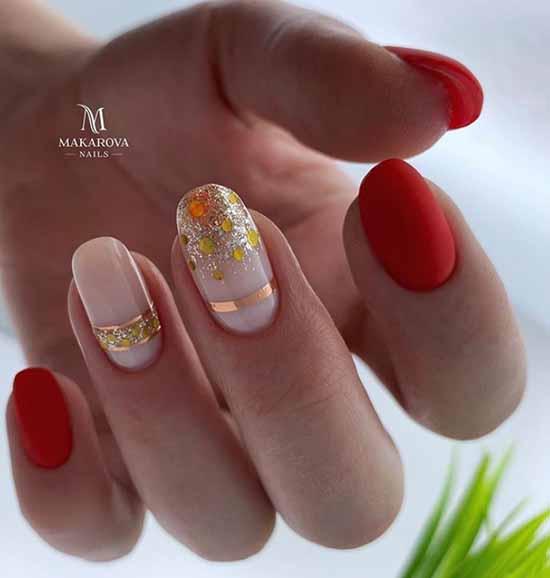 Маникюр с блестками на кончиках ногтей: фото, новинки
