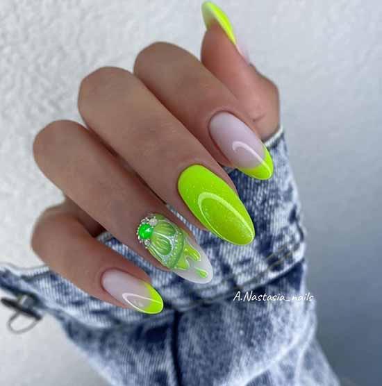 Дизайн ногтей со стразами 2020-2021: фото, изысканные новинки