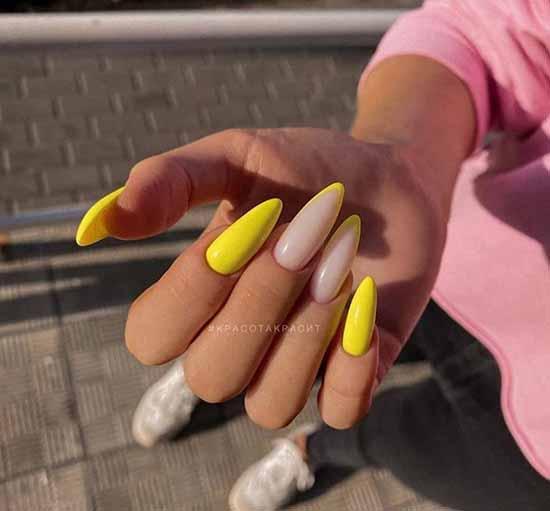 Желтый френч