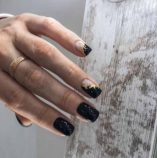 Дизайн ногтей с фольгой: фото, модные новинки маникюра