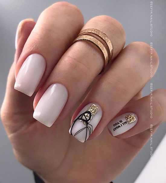 Новинки дизайна ногтей с паутинкой