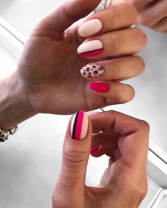 Красивые матовые ногти: дизайн, новинки маникюра на фото