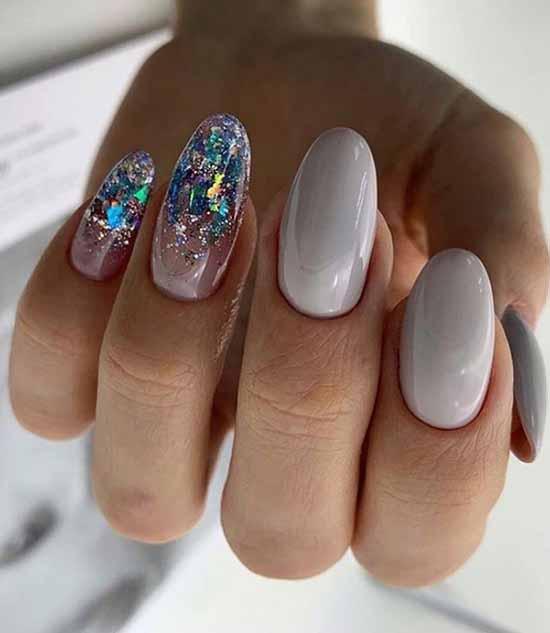 Новогодний дизайн ногтей 2021: фото, идеи маникюра для года Быка