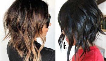 Асимметрия на волосы до плеч
