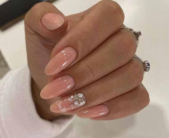 Нарядный дизайн на длинные ногти
