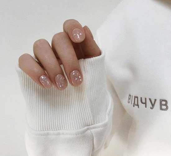 Маникюр очень короткие ногти