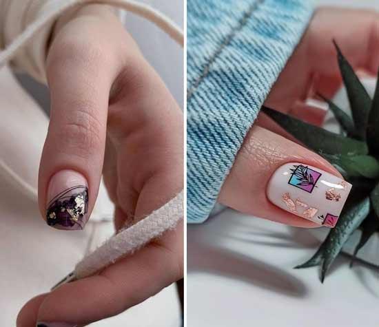 Поталь ногти