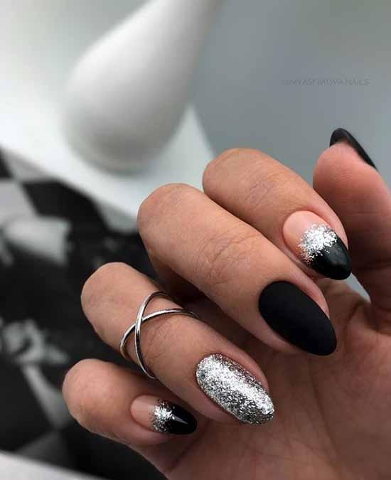 Дизайн ногтей с фольгой фото