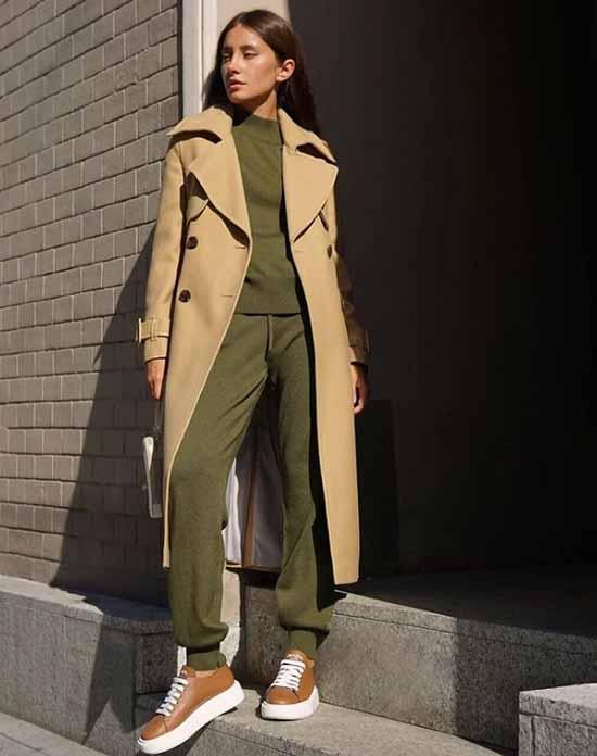 Джоггеры 2021: с чем носить, топ модных образов на фото