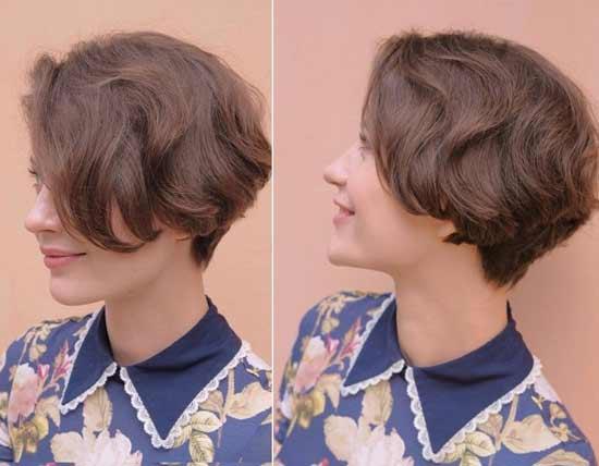 Москвичка на кудрявые волосы
