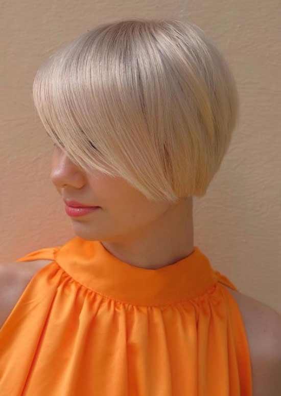 Блондинка стрижка москвичка