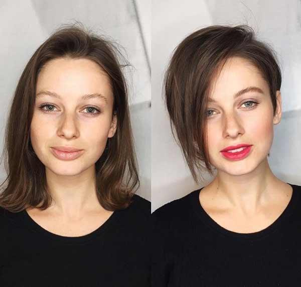 Редкие волосы стрижка москвичка
