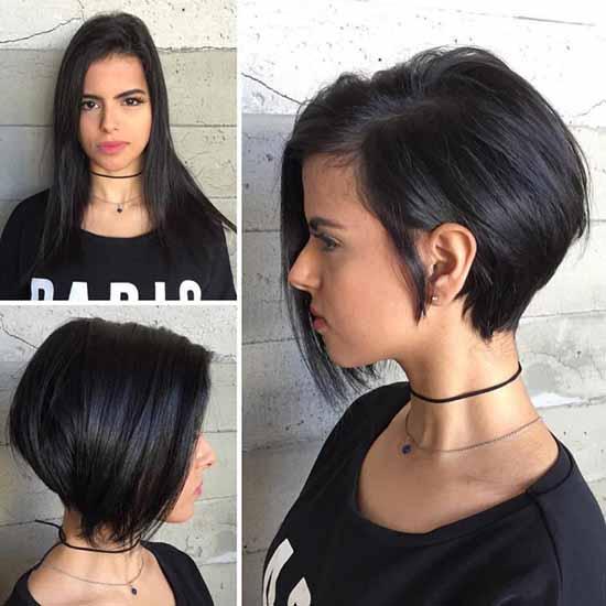 """Стрижка """"москвичка"""": фото на короткие и средние волосы"""