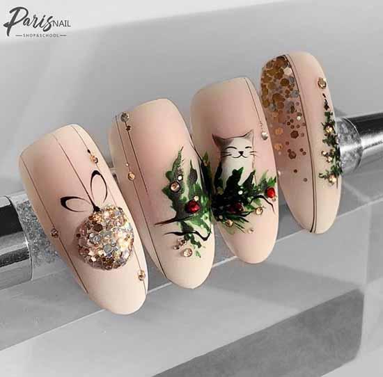 Примеры росписи на ногтях