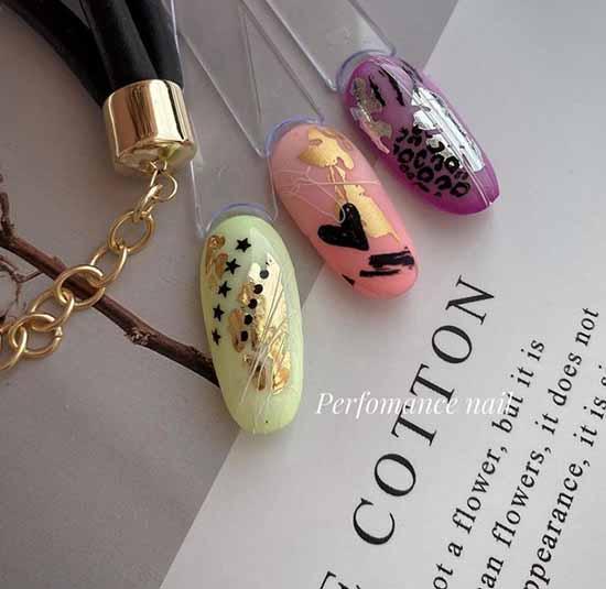 Фото ногти с сердечками дизайн