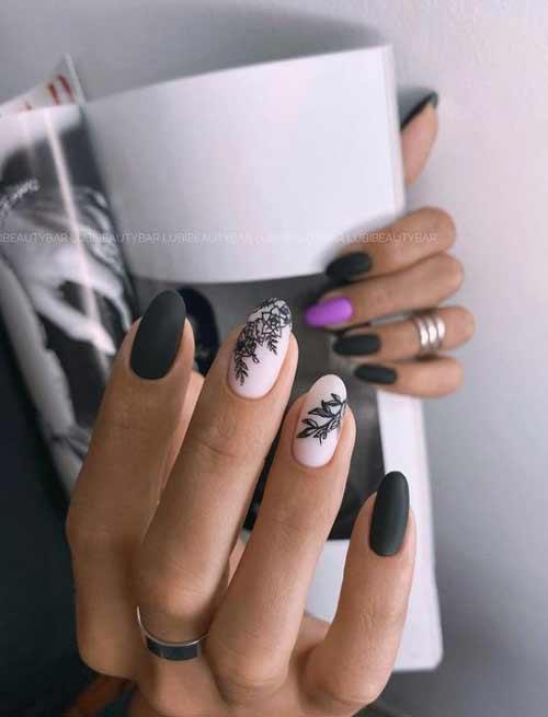 Дизайн ногтей разные руки