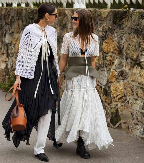 Модная укладка хвостик