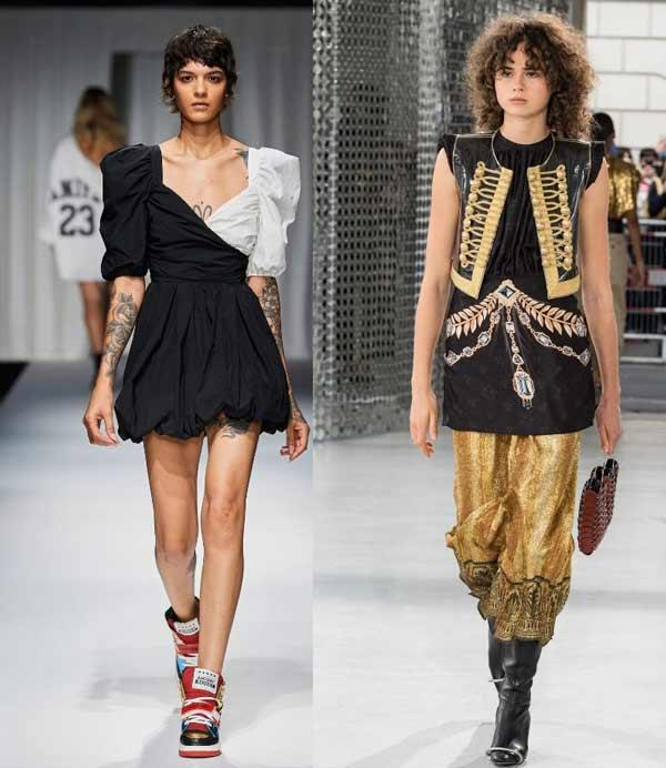 Модные кудрявые стрижки весна-лето 2021