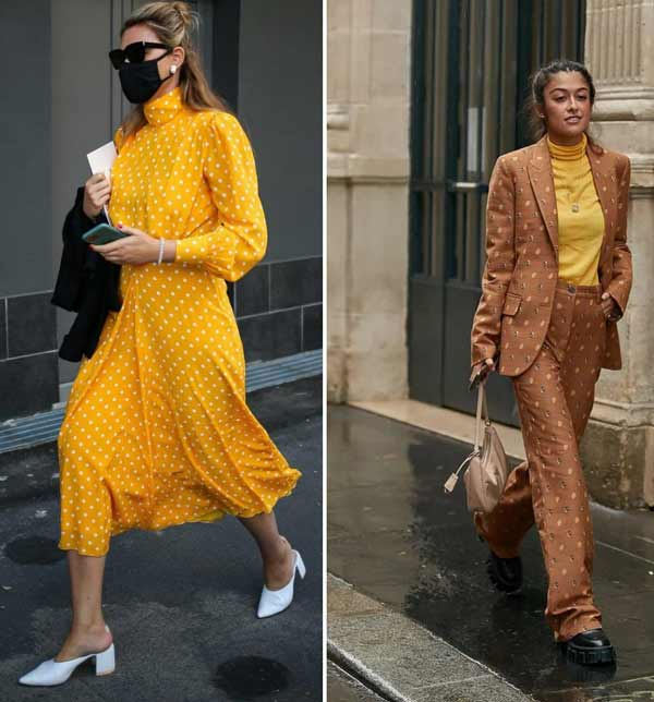 Модный желтый цвет в образах