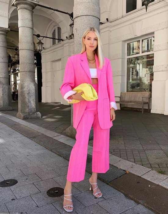 Модный розовый цвет весна-лето 2021