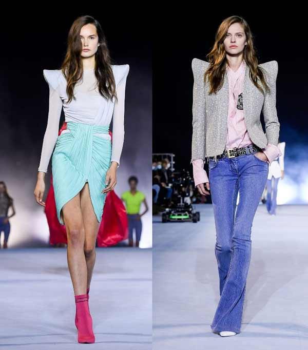 Модные образы весна-лето 2021 Balmain