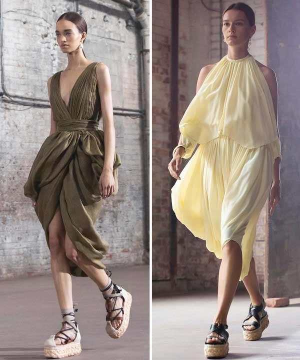 Летние платья весна-лето 2021