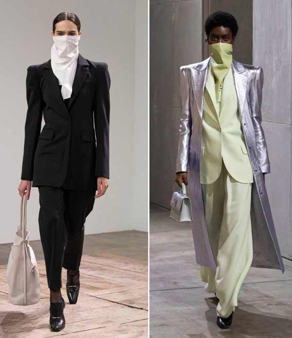 Модные маски косынки