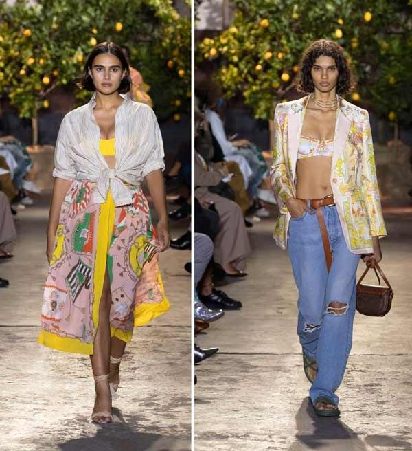 Модные образы Etro весна-лето 2021