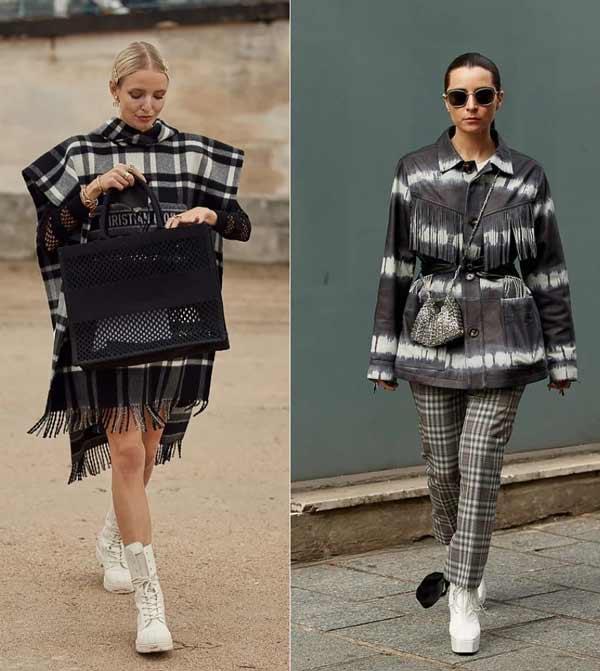 Модная клетка - тренд в одежде весна-лето 2021