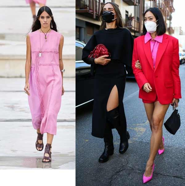 Тренд розовый тотал-лук