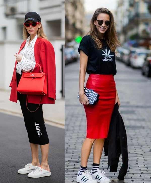 Модные юбки-карандаш весна-лето