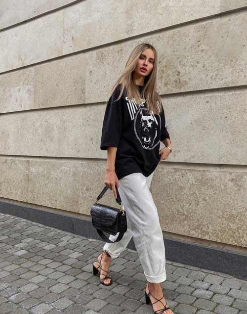 Мода на широкие брюки