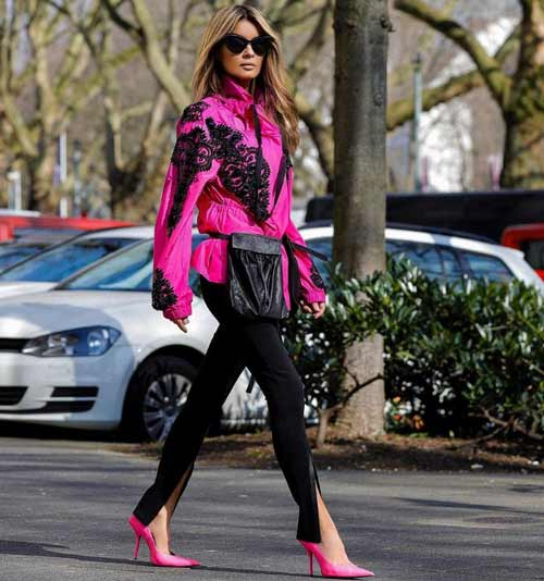 Модные легинсы фото с чем носить