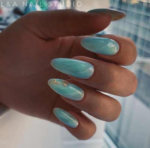 Длинные ногти летний маникюр
