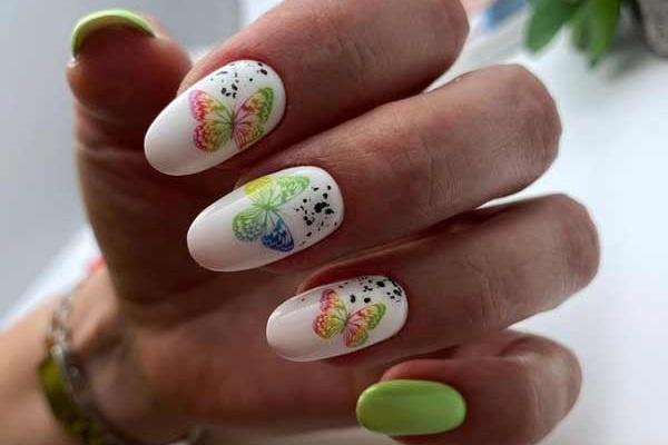 Летний дизайн ногтей фото новинки маникюр